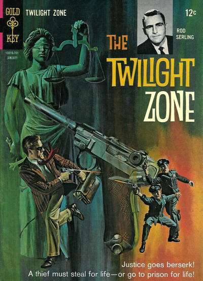 Twilight Zone #19 comic books for sale