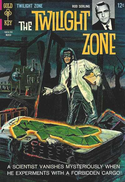 Twilight Zone #20 comic books - cover scans photos Twilight Zone #20 comic books - covers, picture gallery
