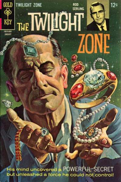 Twilight Zone #24 comic books - cover scans photos Twilight Zone #24 comic books - covers, picture gallery