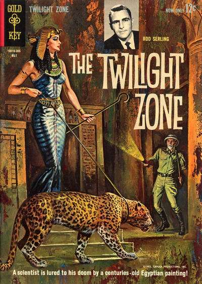 Twilight Zone #3 comic books for sale