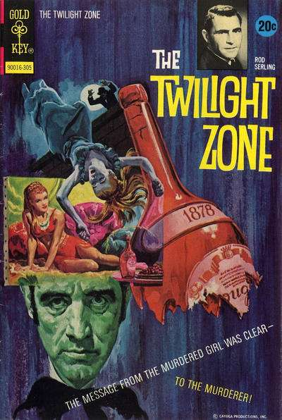Twilight Zone #49 comic books - cover scans photos Twilight Zone #49 comic books - covers, picture gallery