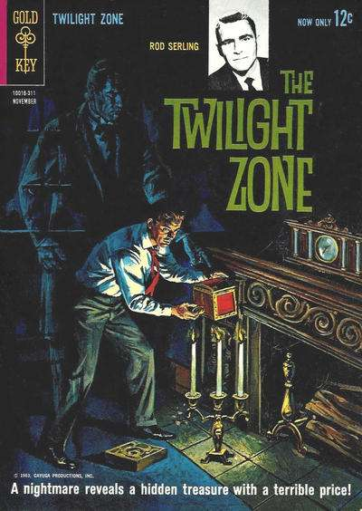Book Cover Series Zone : Twilight zone comic book cover photos scans pictures