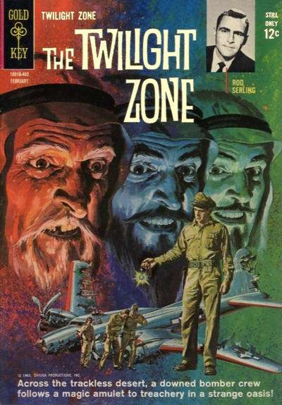 Twilight Zone #6 comic books - cover scans photos Twilight Zone #6 comic books - covers, picture gallery