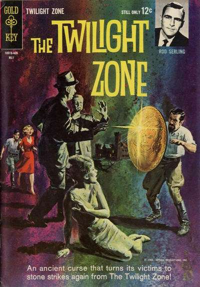 Twilight Zone #7 Comic Books - Covers, Scans, Photos  in Twilight Zone Comic Books - Covers, Scans, Gallery