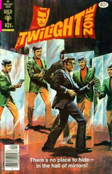 Twilight Zone #90 comic books - cover scans photos Twilight Zone #90 comic books - covers, picture gallery