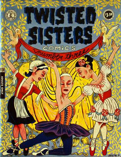 Twisted Sisters Comics #3 comic books for sale