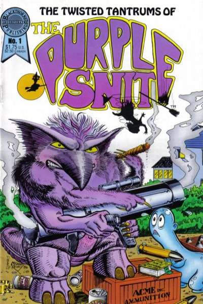Twisted Tantrums of the Purple Snit #1 Comic Books - Covers, Scans, Photos  in Twisted Tantrums of the Purple Snit Comic Books - Covers, Scans, Gallery