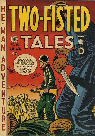 Two-Fisted Tales #20 Comic Books - Covers, Scans, Photos  in Two-Fisted Tales Comic Books - Covers, Scans, Gallery