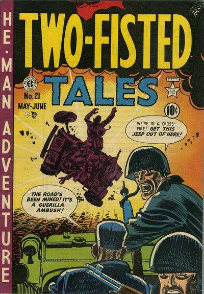Two-Fisted Tales #21 comic books for sale