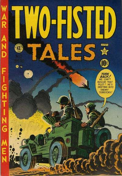 Two-Fisted Tales #23 comic books - cover scans photos Two-Fisted Tales #23 comic books - covers, picture gallery