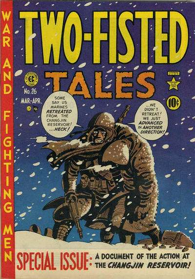 Two-Fisted Tales #26 Comic Books - Covers, Scans, Photos  in Two-Fisted Tales Comic Books - Covers, Scans, Gallery