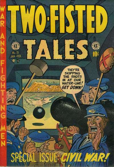 Two-Fisted Tales #31 comic books - cover scans photos Two-Fisted Tales #31 comic books - covers, picture gallery