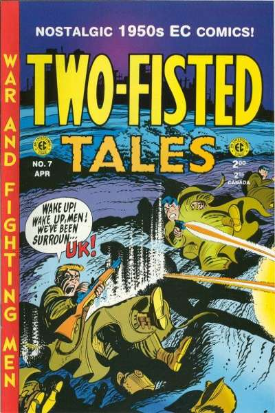 Two-Fisted Tales #7 Comic Books - Covers, Scans, Photos  in Two-Fisted Tales Comic Books - Covers, Scans, Gallery