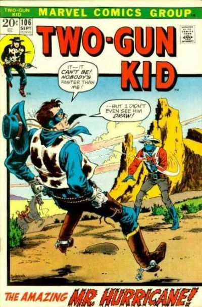 Two-Gun Kid #106 comic books - cover scans photos Two-Gun Kid #106 comic books - covers, picture gallery
