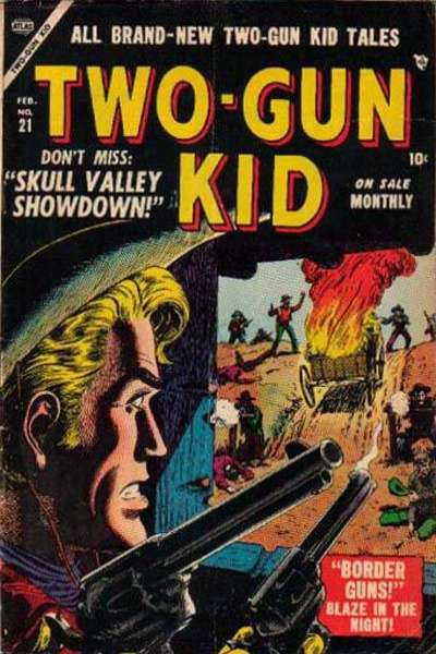 Two-Gun Kid #21 Comic Books - Covers, Scans, Photos  in Two-Gun Kid Comic Books - Covers, Scans, Gallery