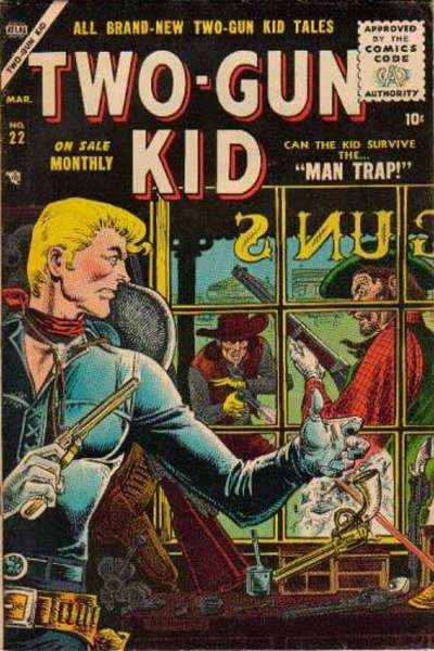 Two-Gun Kid #22 Comic Books - Covers, Scans, Photos  in Two-Gun Kid Comic Books - Covers, Scans, Gallery