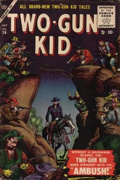 Two-Gun Kid #24 Comic Books - Covers, Scans, Photos  in Two-Gun Kid Comic Books - Covers, Scans, Gallery