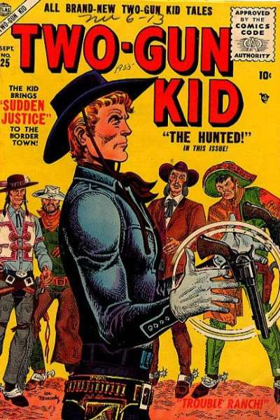 Two-Gun Kid #25 Comic Books - Covers, Scans, Photos  in Two-Gun Kid Comic Books - Covers, Scans, Gallery