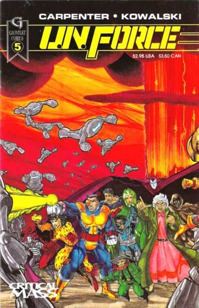 U.N. Force #5 Comic Books - Covers, Scans, Photos  in U.N. Force Comic Books - Covers, Scans, Gallery