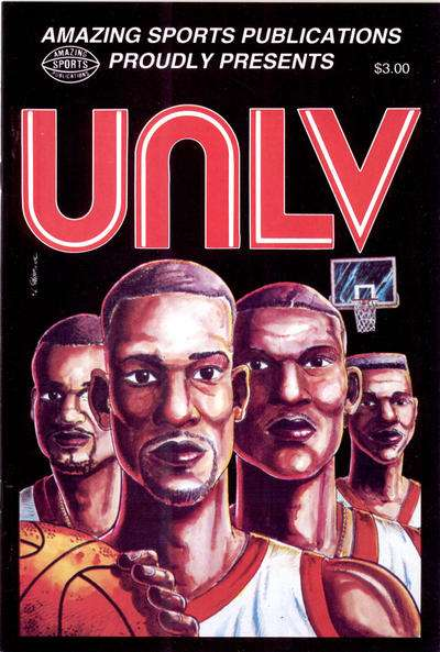 UNLV #1 comic books for sale