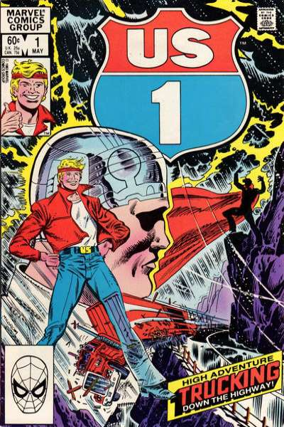 U.S. 1 #1 comic books - cover scans photos U.S. 1 #1 comic books - covers, picture gallery