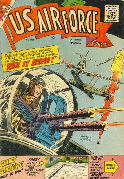 U.S. Air Force Comics #6 Comic Books - Covers, Scans, Photos  in U.S. Air Force Comics Comic Books - Covers, Scans, Gallery