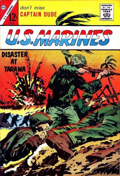 U.S. Marines Comic Books. U.S. Marines Comics.