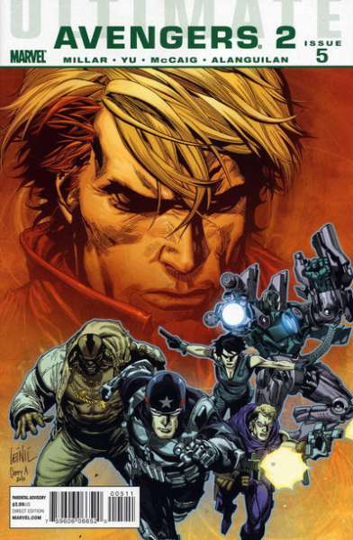 Ultimate Avengers #11 comic books - cover scans photos Ultimate Avengers #11 comic books - covers, picture gallery