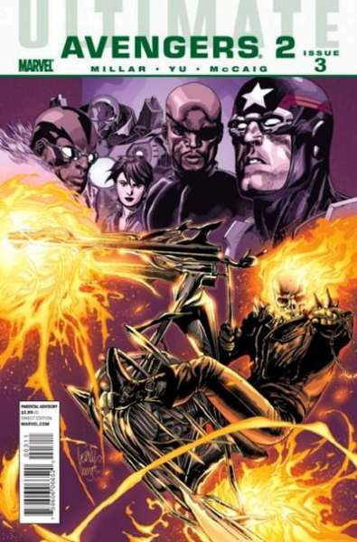 Ultimate Avengers #9 comic books - cover scans photos Ultimate Avengers #9 comic books - covers, picture gallery