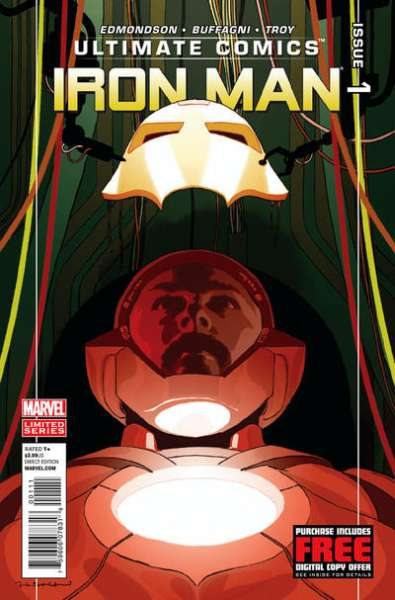 Ultimate Comics Iron Man #1 comic books for sale