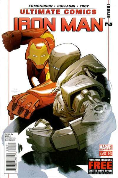 Ultimate Comics Iron Man #2 comic books for sale