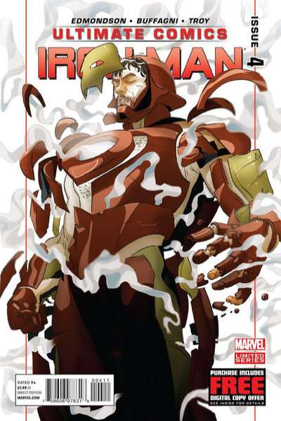 Ultimate Comics Iron Man #4 comic books for sale