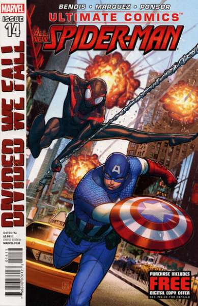 Ultimate Comics Spider-Man #14 comic books - cover scans photos Ultimate Comics Spider-Man #14 comic books - covers, picture gallery