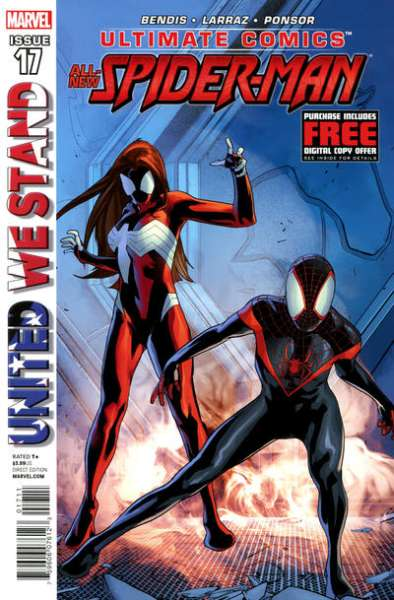 Ultimate Comics Spider-Man #17 comic books - cover scans photos Ultimate Comics Spider-Man #17 comic books - covers, picture gallery