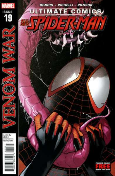 Ultimate Comics Spider-Man #19 comic books - cover scans photos Ultimate Comics Spider-Man #19 comic books - covers, picture gallery