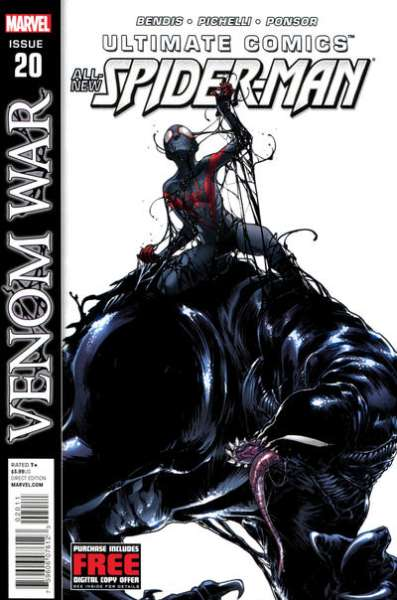 Ultimate Comics Spider-Man #20 Comic Books - Covers, Scans, Photos  in Ultimate Comics Spider-Man Comic Books - Covers, Scans, Gallery