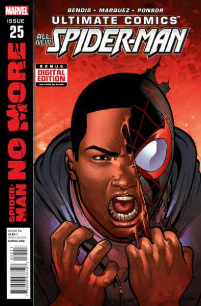 Ultimate Comics Spider-Man #25 comic books - cover scans photos Ultimate Comics Spider-Man #25 comic books - covers, picture gallery