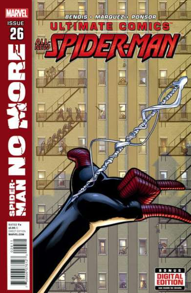 Ultimate Comics Spider-Man #26 comic books - cover scans photos Ultimate Comics Spider-Man #26 comic books - covers, picture gallery