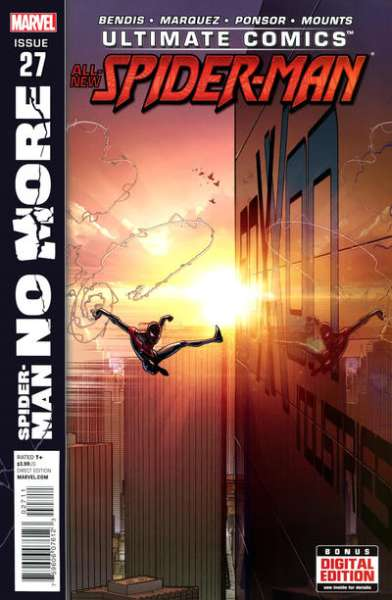 Ultimate Comics Spider-Man #27 comic books - cover scans photos Ultimate Comics Spider-Man #27 comic books - covers, picture gallery