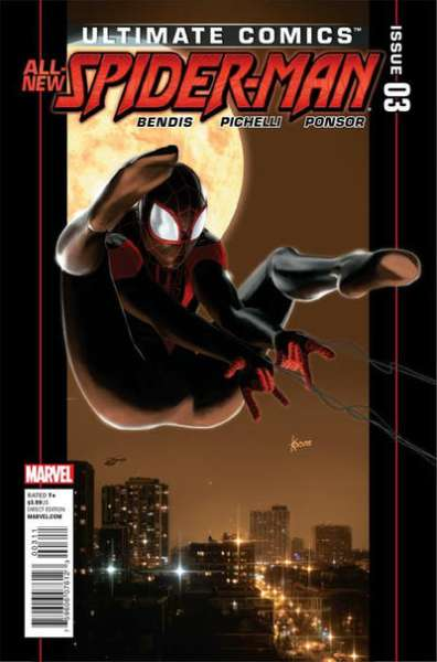 Ultimate Comics Spider-Man #3 Comic Books - Covers, Scans, Photos  in Ultimate Comics Spider-Man Comic Books - Covers, Scans, Gallery