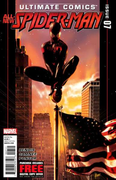 Ultimate Comics Spider-Man #7 Comic Books - Covers, Scans, Photos  in Ultimate Comics Spider-Man Comic Books - Covers, Scans, Gallery