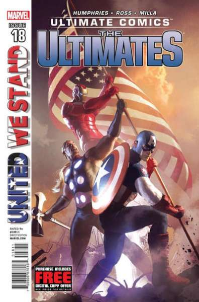 Ultimate Comics Ultimates #18 comic books for sale