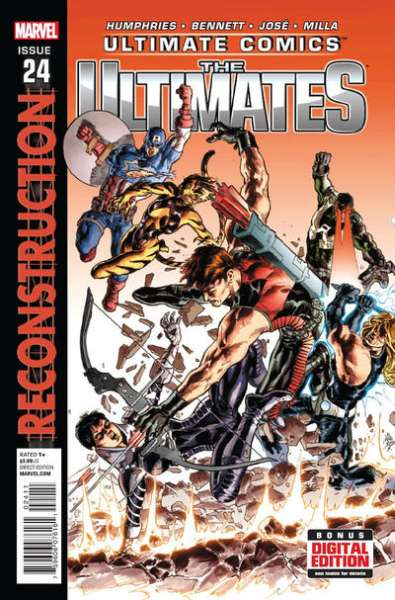 Ultimate Comics Ultimates #24 comic books for sale