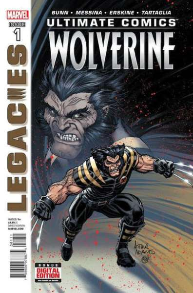 Ultimate Comics Wolverine #1 comic books - cover scans photos Ultimate Comics Wolverine #1 comic books - covers, picture gallery
