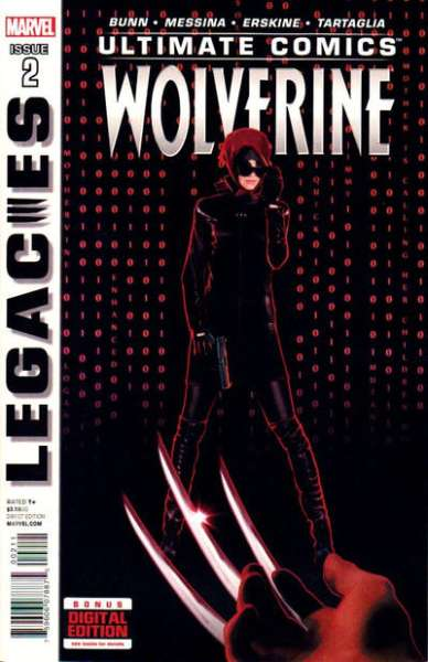Ultimate Comics Wolverine #2 comic books - cover scans photos Ultimate Comics Wolverine #2 comic books - covers, picture gallery