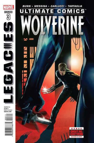 Ultimate Comics Wolverine #3 comic books - cover scans photos Ultimate Comics Wolverine #3 comic books - covers, picture gallery