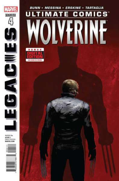 Ultimate Comics Wolverine #4 comic books - cover scans photos Ultimate Comics Wolverine #4 comic books - covers, picture gallery