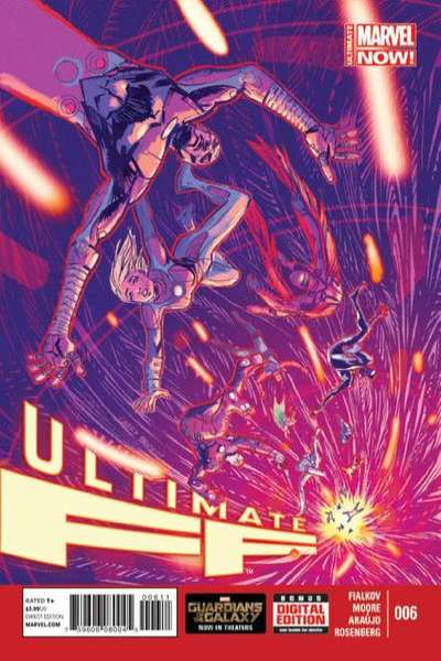 Ultimate FF #6 comic books for sale
