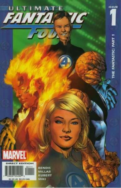 Ultimate Fantastic Four comic books