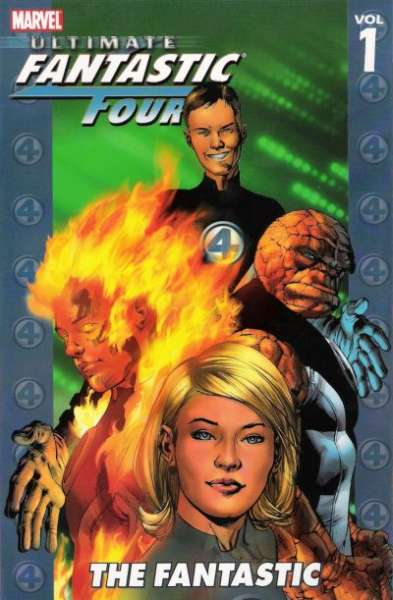 Ultimate Fantastic Four #1 comic books - cover scans photos Ultimate Fantastic Four #1 comic books - covers, picture gallery